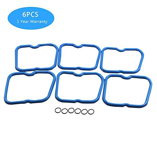 - 6pcs Valve Cover Gasket Set 3902666 for Dodge Cummins 12 V 5.9L 12V 6BT 5.9