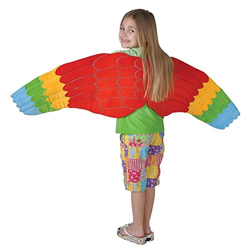 Parrot Costume: Wings