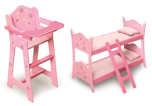 Blossoms Butterflies Doll High Chair product image