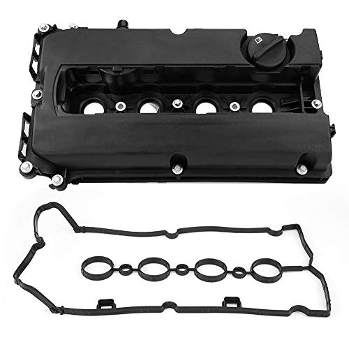 Engine Valve Cover, High Accuracy Durable Aluminum Alloy Engine Cylinder Valve Cover With Gasket: