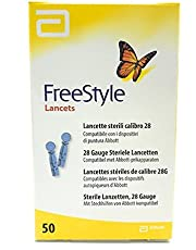 Abbott Freestyle  - Lancette Sterili Calibro 28, 50 pezzi