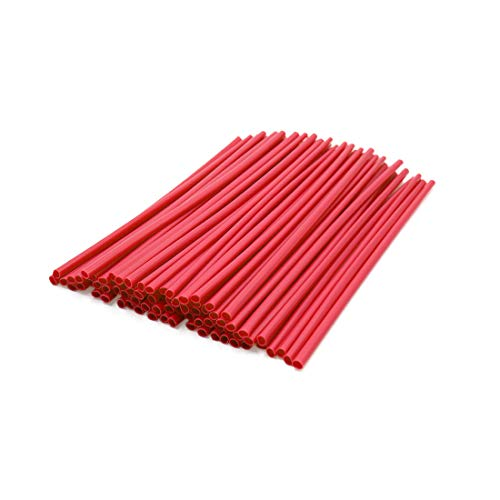 Motorcycle Wire Wheels Spoke (uxcell 72pcs 23.5cm Length Motorcycle Wheel Steel Wire Spoke Reflective Clip Tube Red)