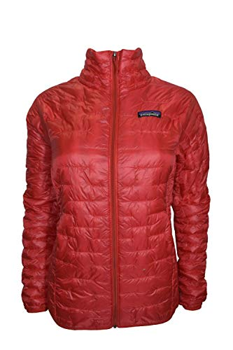 Patagonia Women's Red Micro Puff Jacket XS -