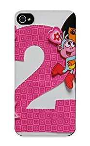DRXkhgp3285agYMe Case Cover Diy Nosew Dora The Explorer Applique And Number By Maggiescastle Compatible With Iphone 5/5s Protective Case
