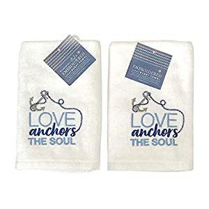 41fcRKe3CpL._SS300_ Beach Hand Towels & Nautical Hand Towels