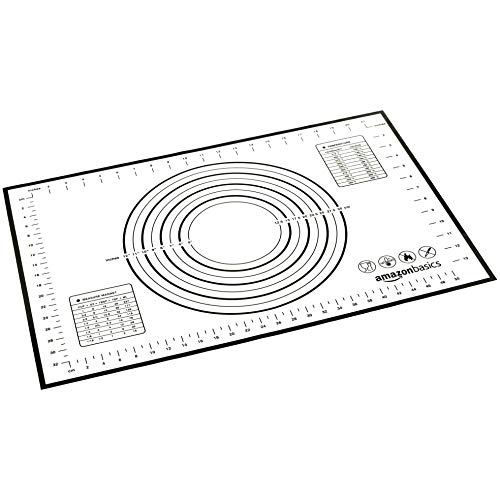 AmazonBasics Silicone Baking and Rolling mat (60 X 40 cm)