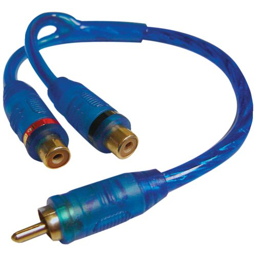 Double Shielded Competition Series - DB LINK CLY2FZ Double-Shielded Competition Series RCA Y-Adapter (1 Male to 2 Females) Accessories Electronics