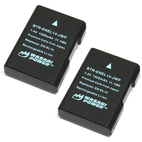 Wasabi Power Battery EN EL14 EN EL14a product image