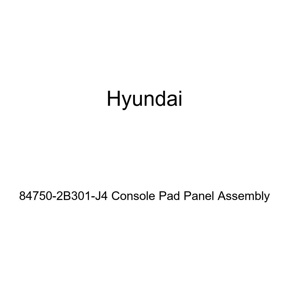 Genuine Hyundai 84750-2B301-J4 Console Pad Panel Assembly