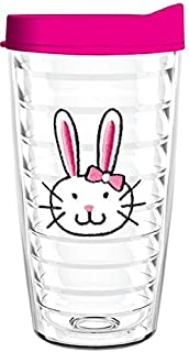 product image for Smile Drinkware USA-EASTER BUNNY 16oz Tritan Insulated Tumbler With Lid and Straw