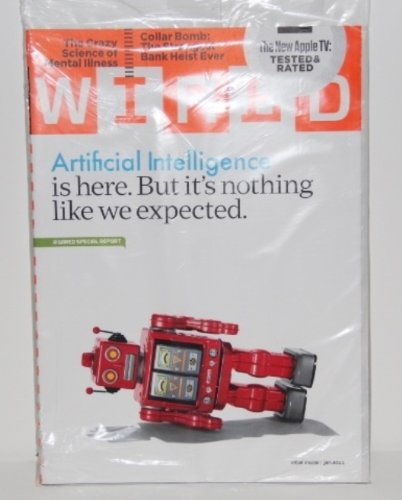 Download Wired: Artificial Intelligence January 2011 Plus The Crazy Science of Mental Illness, Collar Bomb, The New Apple TV pdf