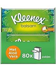 Kleenex Balsam zakdoekjes - 80 zakdoekjes - Voordeelverpakking