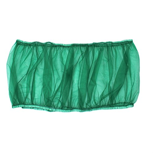 UEETEK Seed Catcher Bird Cage Tidy Bird Cage Mesh Net Cover Skirt Guard (Green) by UEETEK