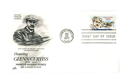 Glenn Curtiss FDC Artcraft FDC (Scott #C100)