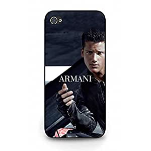 Cool Style Armani Logo Protective Case for Iphone 5/5s Armani Pattern Phone Case