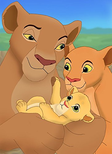 14x19 inch The Lion King II Simbas Pride Silk Poster 6GSA-246