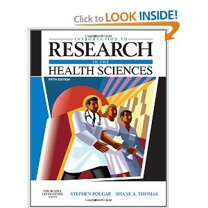 Research in the Health Sciences 5th (Fifth) Edition byPolgar pdf epub