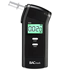 BACtrack S80 Breathalyzer | Professional-Grade Accuracy | DOT & NHTSA Approved | FDA 510(k) Clea