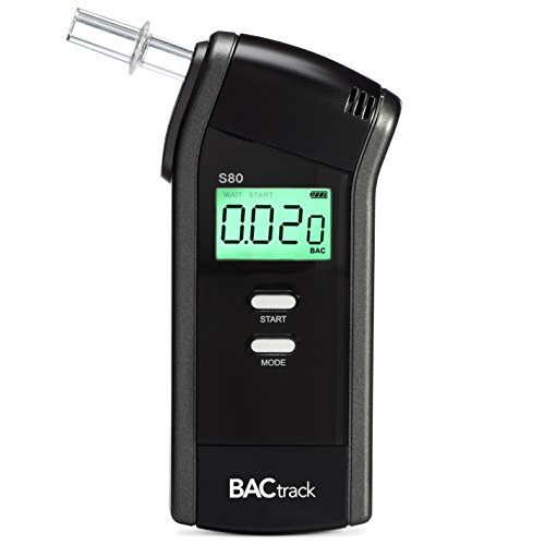 (BACtrack S80 Breathalyzer | Professional-Grade Accuracy | DOT & NHTSA Approved | FDA 510(k) Cleared | Portable Breath Alcohol Tester for Personal & Professional Use)