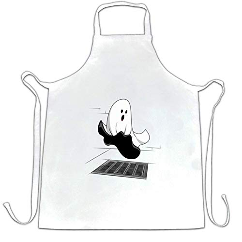 Ashasds Custom Chef Apron Halloween Chefs Apron Iconic Monroe Ghost Parody Women Men Barber Kitchen
