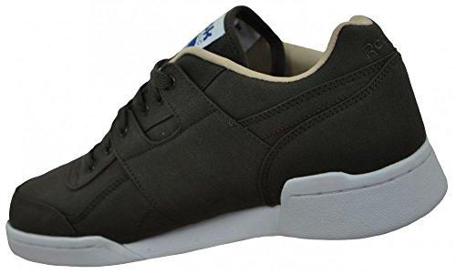 Reebok workout plus 60/40 Mens Herren Classic Sneaker Sportschuhe Braun