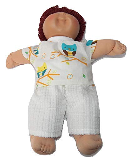Cabbage Patch Doll Clothes 16 Inch Boy Size Owl Pants Set Clothes Only