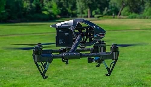 Dji Inspire 1 Quadcopter Skin Wrap Shark Includes Remote