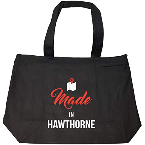 - Made In Hawthorne City Funny Gift - Tote Bag With Zip