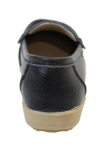 By Shoes -Mocasines ou Náuticos para Mujer negro