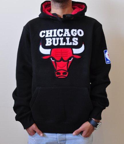 Evolucionar dígito Emociónate  NBA Chicago Bulls Adidas Embroidered Sweatshirt Hoodie for Men- Buy Online  in India at desertcart.in. ProductId : 1327676.