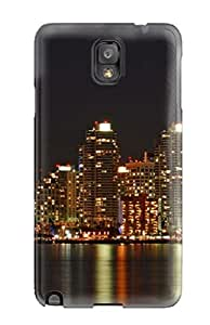 ZippyDoritEduard Galaxy Note 3 Well-designed Hard Case Cover San Diego City Protector