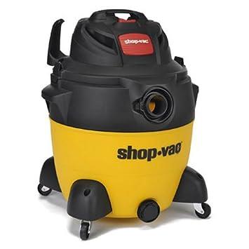 Shop-Vac 8251800 6.5 Peak hp Wet Dry Vacuum, 18 gallon, Yellow Black