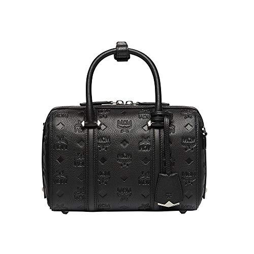 - MCM Women Bags Essential Boston in Monogram Leather