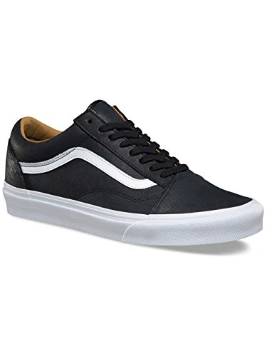 Skool Pour Noir Blanc Old Vans Adultes Unisexe Basses Baskets W67Z5qa