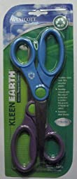 Scissors KleenEarth Recycled with Anti Bacterial Protection 8 Inch 2-Pack Acme United 14882