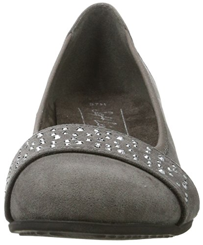 Graphite Mujer de Tacón Softline22260 Gris Zapatos fXqCxC