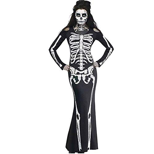 2018 Halloween Costume Horror Skull Skeleton Party Clothes