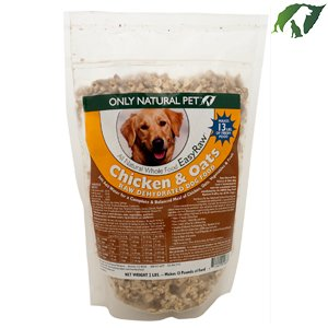 Only Natural Pet EasyRaw Chicken & Oats 8 lbs