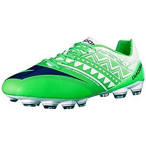 Diadora Men's DD-NA 3 GLX14 Soccer Cleat, Fluo Green/White, 7 M US