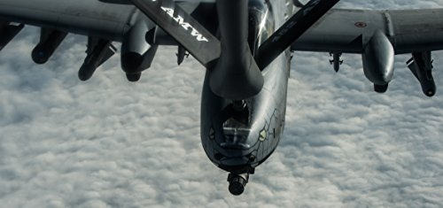 (Home Comforts LAMINATED POSTER U.S. Air Force A-10 Warthog refuels from a USAF KC-135 Stratotanker, the A1-10s are providing combat)