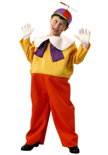 Tweedle Dee And Tweedle Dum Fancy Dress Costume (Big Boys' Kids Tweedle Dee / Dum Costume Small)