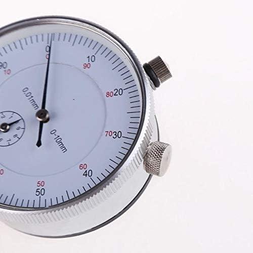 Readygo Temperature barometric Pressure measurem 0-10mm Precision Tool Dial Indicator 0.01mm Professional Portable Dial Test Indicator,Simple Guides