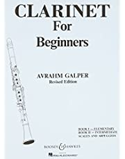 Clarinet for Beginners: Book 1 - Elementary
