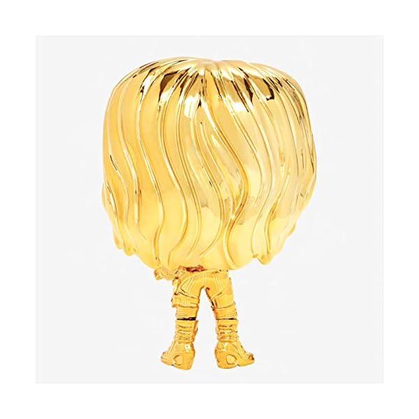 41fcd9B9qgL Funko Pop Marvel: Marvel Studios 10 - Gamora (Gold Chrome) Collectible Figure, Multicolor