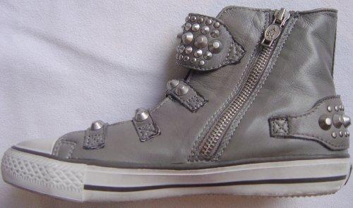 Ash Sneaker - Frog - für Damen und Kinder Schuhe Nappa Leather grau