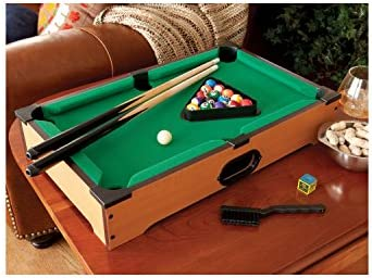 RyanInLA Mini Pool Table with Accessories