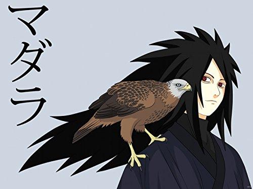 Naruto Madara Uchiha Anime Manga Art Print Poster