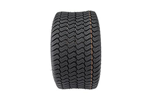 Antego Tire & Wheel Set of Two 20×10.00-8 4 Ply Turf Tires for Lawn & Garden Mower 20×10-8
