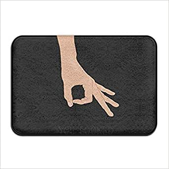 Amazon Com Circle Finger Game Welcome Door Mat Entrance
