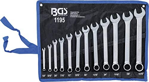 BGS 8646 8 piezas versi/ón mini 4-10 mm Juego de llaves combinadas